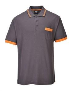 Футболка-поло Portwest TX20, Серый / оранжевый