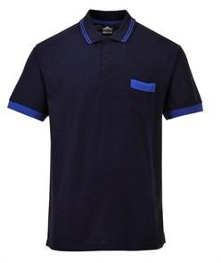Футболка-поло Portwest TX20, Темно-синий / синий