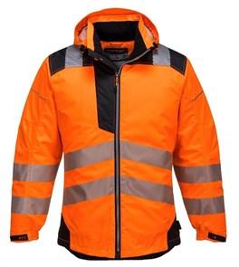 Сигнальная утепленная куртка Portwest T400, Сигнально-оранжевый/черный