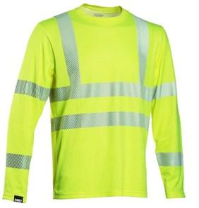 Сигнальная футболка с длинными рукавами Dimex 4248+