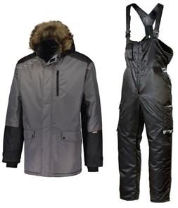 Зимний костюм Dimex Extreme Plus серый + 619