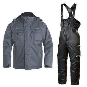Зимний костюм Engel Combat 1232-107 серый + Dimex 619