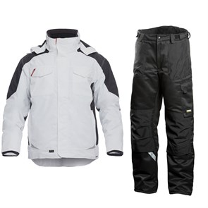 Зимний костюм Engel Galaxy 1410-354 белый/серый + Dimex 682