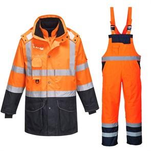 Зимний костюм Portwest s426 + S489 сигнальный оранжевый