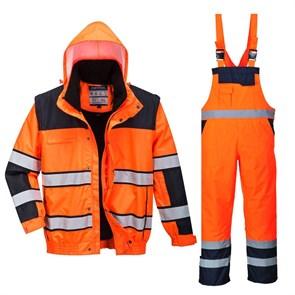 Зимний костюм Portwest C466+ S489 оранжевый