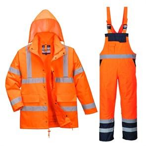 Зимний костюм Portwest S468 + S489 оранжевый