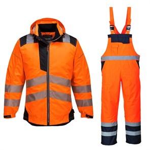 Зимний костюм Portwest T400 + S489 оранжевый