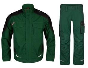 Летний костюм Engel 1810-254 + 2810-254, зеленый/черный