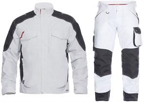Летний костюм Engel 1810-254 + 2810-254, белый/черный