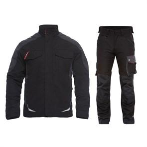 Летний костюм Engel 1810-254 + 2810-254, черный/серый