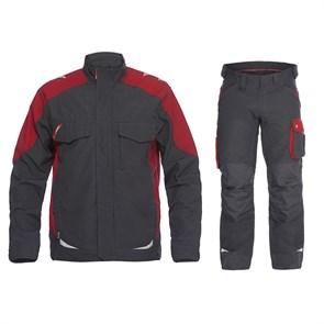 Летний костюм Engel 1810-254 + 2810-254, серый/красный