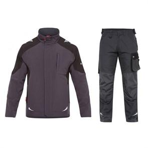 Летний костюм Engel 8810-229 + 2810-254, серый/черный