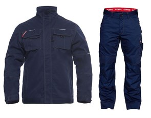 Летний костюм Engel 1760-630 + 2760-630, синий
