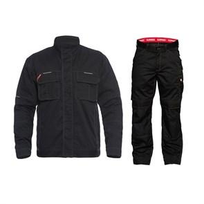 Летний костюм Engel 1760-630 + 2760-630, черный