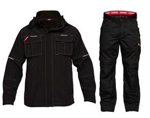Летний костюм Engel 1260-229 + 2760-630, черный