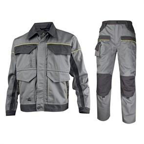 Летний костюм Delta Plus MCVes+MCPan, серый/черный