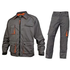 Летний костюм Delta Plus M2Ves+M2Pan, серый/оранжевый