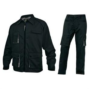Летний костюм Delta Plus M2Ves+M2Pan, черный/серый