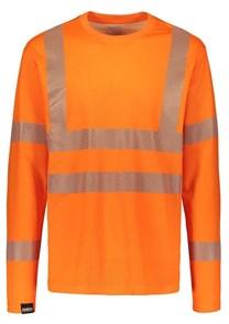 Сигнальная футболка с длинными рукавами Dimex 4295+