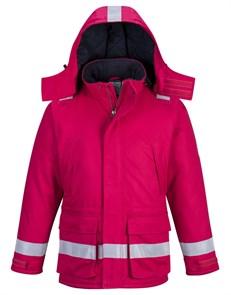 Огнеупорная антистатическая зимняя куртка Portwest FR59, Красный