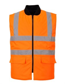 Утепленный сигнальный жилет Portwest S469, оранжевый