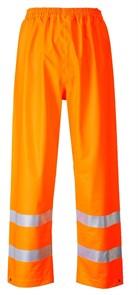 Огнеупорные антистатические брюки от дождя Portwest FR43, оранжевый