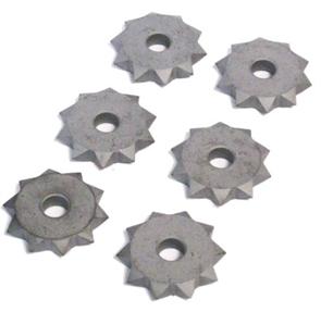 Сменные твердосплавные ролики Flex, 6 шт