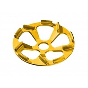 Алмазный шлифовальный круг Flex тарельчатой формы Beton-Whirljet D125 28x23,5