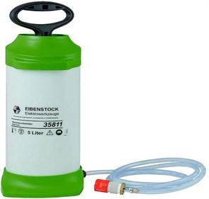 Резервуар для воды 5 л, пластмассовый, шланг 4,0 м