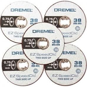 Круг отрезной SC (38мм) (ТОЛЩ-0,75) 5мм Dremel