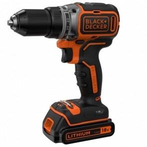 Дрель-шуруповерт аккумуляторная Black+Decker BL186KB