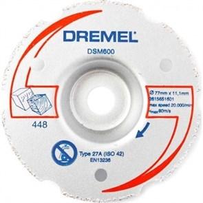 600 Многоф,диск для резки заподлицо для DSM20 Dremel