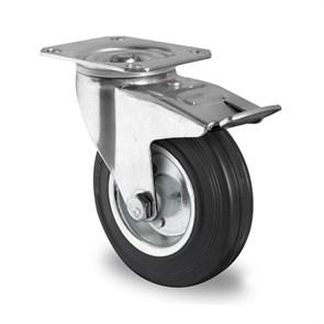 Комплект колес 200 мм для телег ТП-5 (4 пов, 2 не пов.)