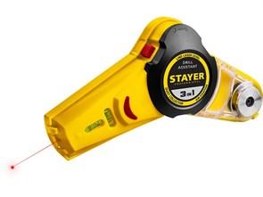 Уровень лазерный Drill Assistant, с приспособлением для сверления