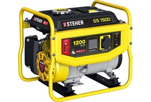 Бензиновый электрогенератор STEHER GS-1500