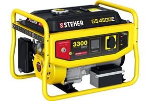 Бензиновый электрогенератор STEHER GS-4500Е