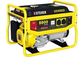 Бензиновый электрогенератор STEHER GS-6500