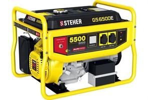 Бензиновый электрогенератор STEHER GS-6500Е