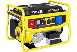Бензиновый электрогенератор STEHER GS-8000Е