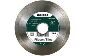 Алмазный отрезной круг 115x22,23мм, «SP-T», для плитки «SP», Metabo, 628555000