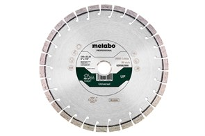 Алмазный отрезной круг 350x20,0/25,4мм, «UP», универсальный «professional», Metabo, 628564000
