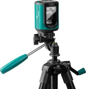 CL20 #3 Нивелир лазерный линейный, элевационный штатив ST-120 (39-120см), чехол, 20м, IP54, точн. 0,2 мм/м, KRAFTOOL