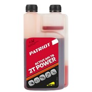 Масло минерал. PATRIOT POWER ACTIVE 2T дозаторная 0,946л