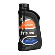 Масло полусинтетическое PATRIOT G-Motion 2Т EURO 1л