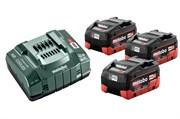 Базовый комплект 3 LiHD x 5,5 А·ч, Metabo, 685074000