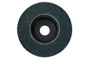 Ламельный шлифовальный круг, 125 мм, P 60, F-ZK, F, Metabo, 624477000