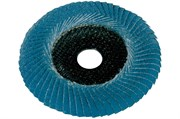 Ламельный шлифовальный круг 125 мм, P 80 F-ZK, Con, Metabo, 626464000