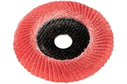 Ламельный шлифовальный круг 125 мм, P 60 FS-CER, Con, Metabo, 626460000