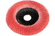 Ламельный шлифовальный круг 125 мм, P 80 FS-CER, Con, Metabo, 626461000