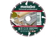 Алмазный отрезной круг 76x10,0мм, «UP», универсальный «professional», Metabo, 626873000